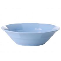 RICE Melamine Soup Bowl pigeon blue