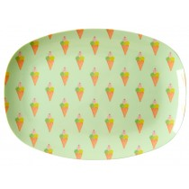 RICE small rectangular plate ICE CREAM