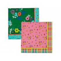 RICE paper napkins with flower print