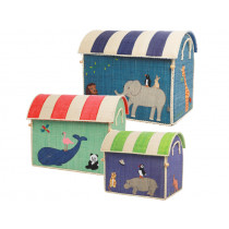 RICE Toy Basket ANIMALS