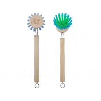 RICE Wooden Dishwashing Brush Set of 2