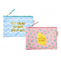 RICE Pencil case Make up purse SHINE