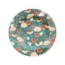 RICE melamine side plate AUTUMN FLOWERS