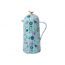 RICE Thermo with BIRD mint fall floral print