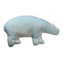 RICE Animal shaped cushion hippo