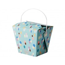 RICE Chinese To Go food box dapper dots