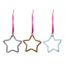 RICE Christmas Decoration Hanger Star.