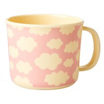 RICE Baby Cup CLOUDS pink