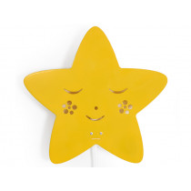 Roommate lamp STAR yellow