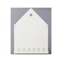 Roommate Magnetic Board & Coat Rack VILLA white