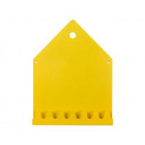 Roommate Magnetic Board & Coat Rack VILLA yellow