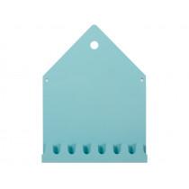Roommate Magnetic Board & Coat Rack VILLA pastel blue