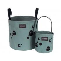 Roommate Storage Basket Set GHOST sea grey