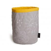 Roommate Storage Basket Hello Sunshine LARGE grey