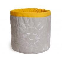 Roommate Storage Basket Hello Sunshine MEDIUM grey