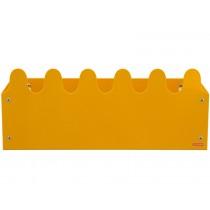 Roommate Shelf SINUS BOX mustard yellow