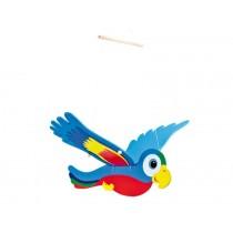 Swinging parrot