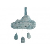 Sebra Musical Clock Rain Cloud cloud blue