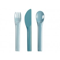 Sebra Melamine Cutlery cloud blue