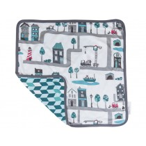 Sebra baby blanket Village boy
