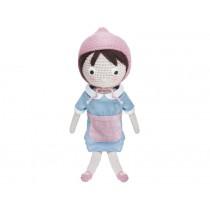 Sebra crochet doll farmer girl Jenny