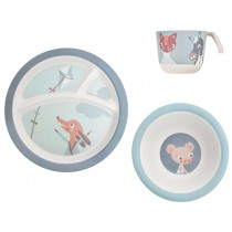 Sebra bamboo dinner set Farm Boy