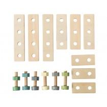 Sebra wooden construction playset