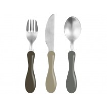 Sebra cutlery soil brown