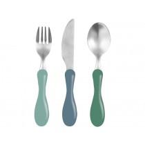 Sebra cutlery pine green