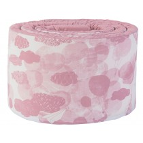 Sebra bed bumper In the Sky vintage rose