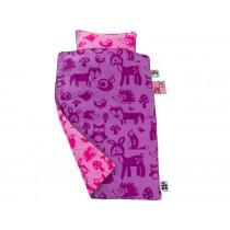Sebra Bettwäsche mit Waldmotiv für Mädchen