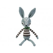 Sebra crochet rabbit Robert
