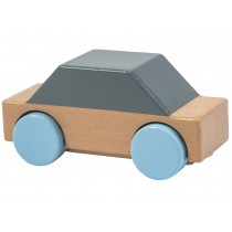 Sebra wooden car grey