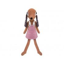 Sebra crochet dog Bella