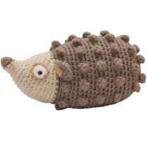 Sebra crochet rattle hedgehog