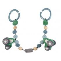 Sebra crochet pram chain tractor