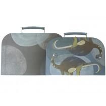 Sebra suitcase set Dino