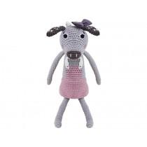 Sebra crochet cow Clara