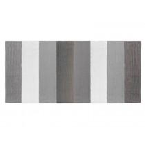 Sebra: Woven Floor Mat - grey