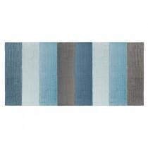 Sebra: Woven Floor Mat - cloud blue