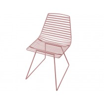 Sebra Me-Sit metal chair vintage rose