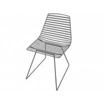 Sebra Me-Sit metal chair dark grey