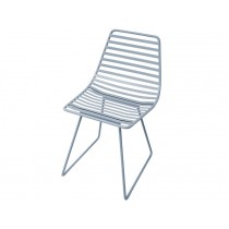 Sebra Me-Sit metal chair S cloud blue