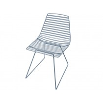 Sebra Me-Sit metal chair cloud blue