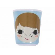 Sebra melamine cup with boy face