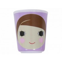 Sebra melamine cup with girl face