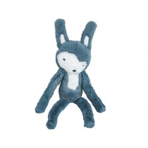 Sebra plush rabbit cloud blue