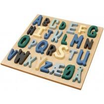 Sebra wooden puzzle ABC boy