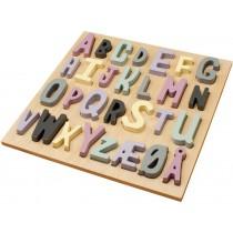 Sebra wooden puzzle ABC girl