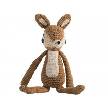 Sebra crochet animal deer